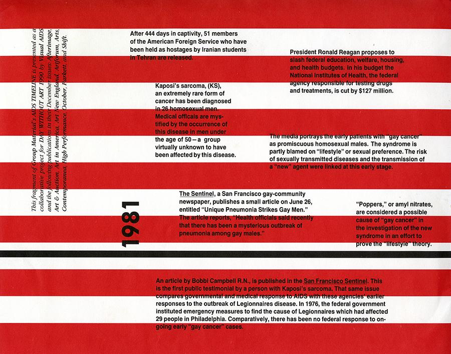 AIDS Timeline (Magazines), 1990, Shift