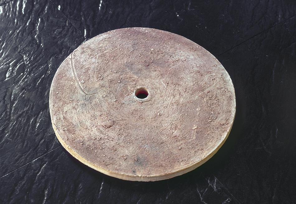 Five discs (detail), 1981