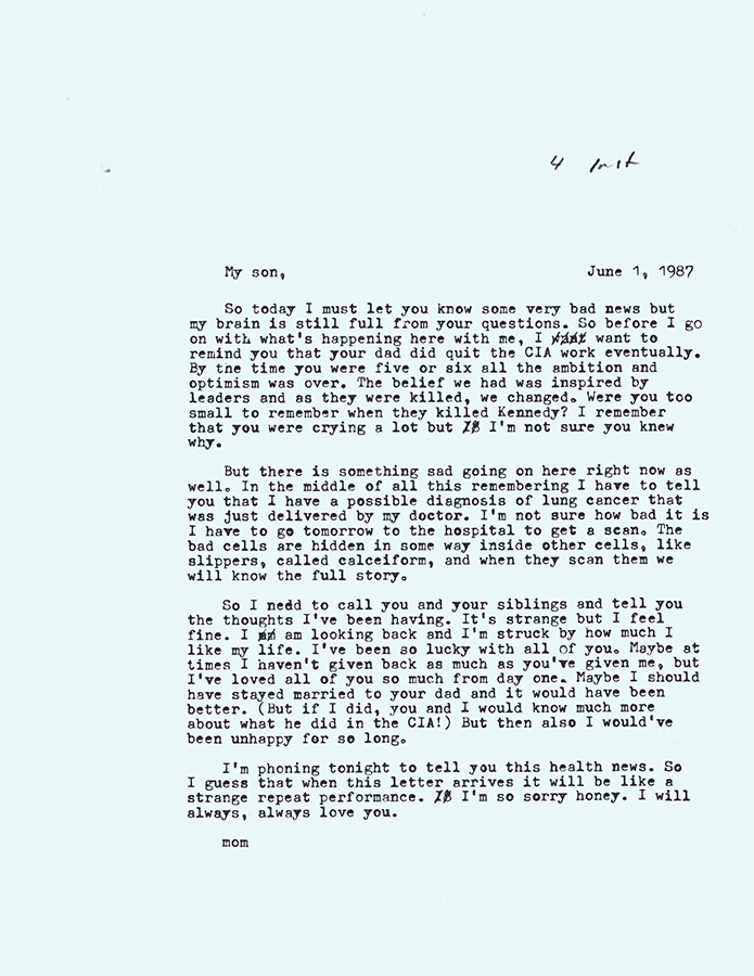 Letter no.4 (June 1st, 1987)