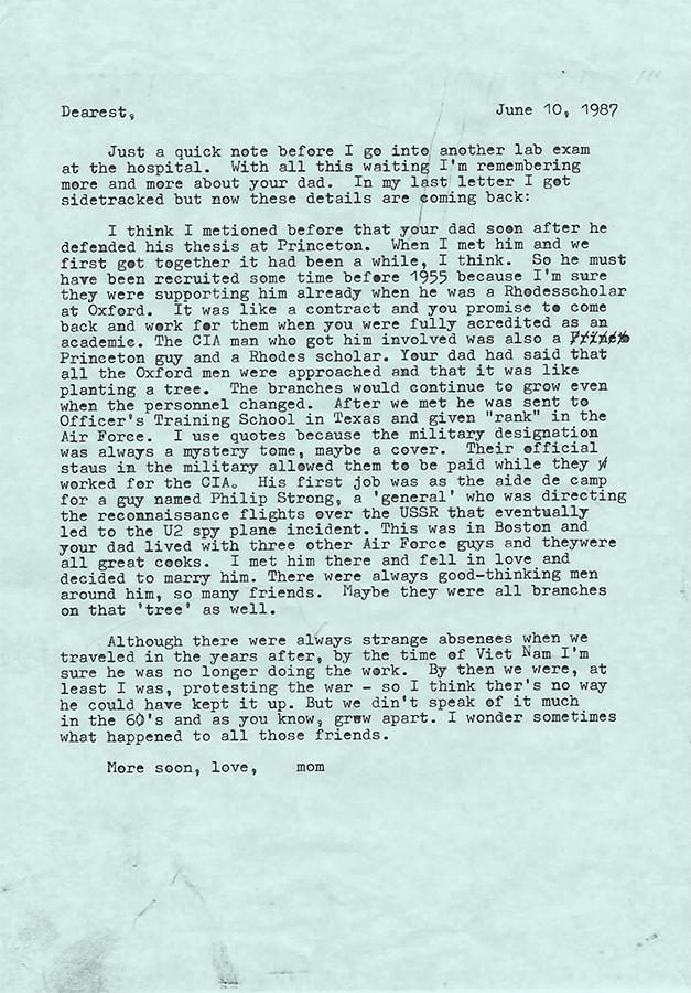 Letter no.5 (June 10th, 1987)